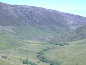 holiday snap of glenroy in scottish highlands